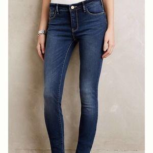 Anthropologie Pilcro Serif Skinny Jeans 25